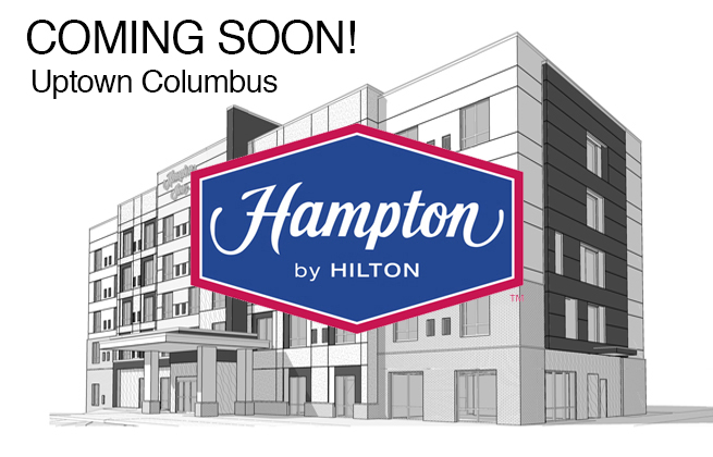Hampton Uptown Columbus | Coming Soon!